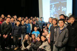 Laura Jones Guest Speaker with Journalism classes at Claude Watson School for the Arts, Toronto
