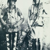 Kamiokishkwew Fine Day (right) Fine Day was active in the North West Rebellion of 1885 (Battle of Cut Knife) 1896 Cree Indians at Battleford