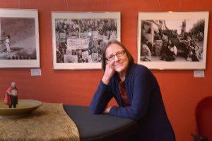 Laura Jones with (miniature ) Club President John Goddard